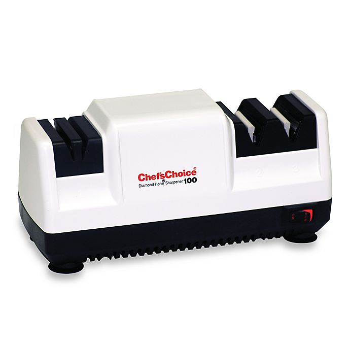 Alternate image 1 for Chef'sChoice® M100 Electric Knife Sharpener with White Finish