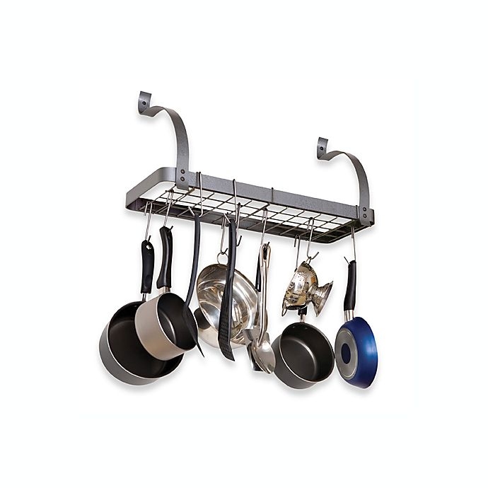 EnclumeR RACK IT UP Bookshelf Pot Rack