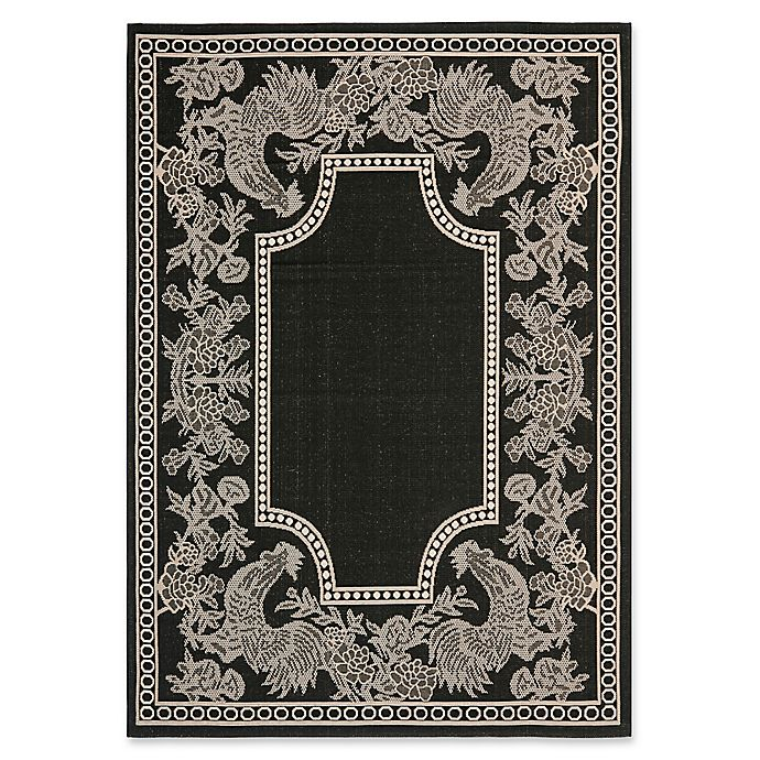 Alternate image 1 for Safavieh Courtyard Kinley Indoor/Outdoor Rug