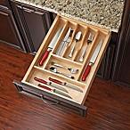 Rev-A-Shelf - 4WCT-1SH - 22-Inch x 14.62-Inch Small Wood Cutlery Drawer Insert