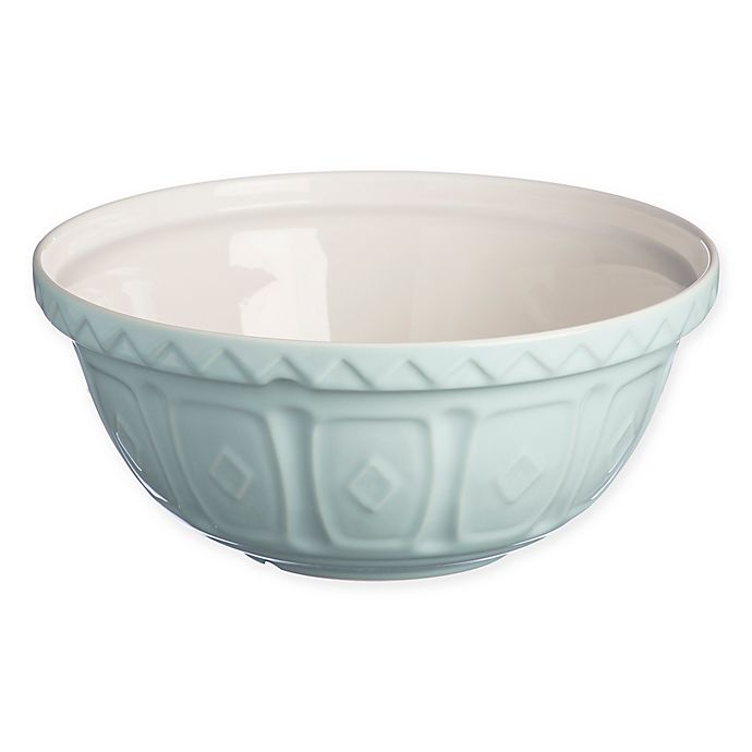 Alternate image 1 for Mason Cash® Bakewell 11.75-Inch Ceramic Mixing Bowl in Powder Blue