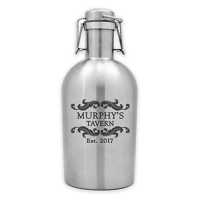 Alternate image 1 for Susquehanna Glass Tavern Stainless Steel Beer Growler in Metallic