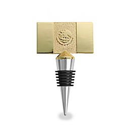 Wild Eye Designs Mexico Flags Wine Stopper in Gold