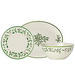 Lenox® Holiday® Melamine Dinnerware Collection