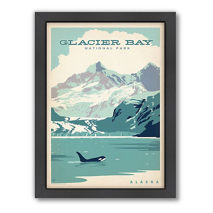Alternate image 1 for Glacier Bay National Park Framed Wall Art by Anderson Design Group