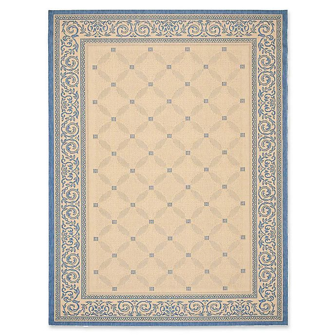 Alternate image 1 for Safavieh Courtyard Aria Indoor/Outdoor Rug