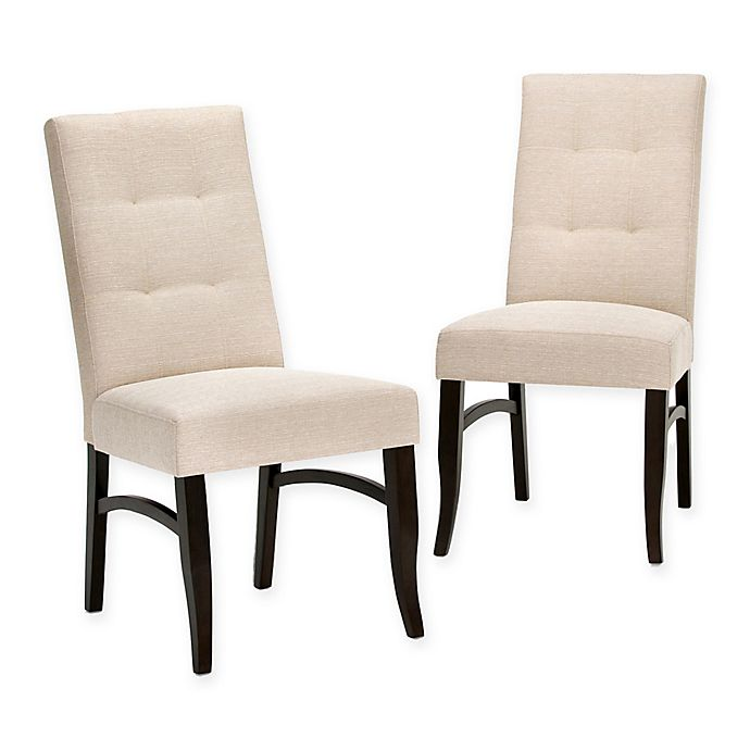 Alternate image 1 for Simpli Home Ezra Dining Chair (Set of 2)