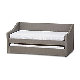 Baxton Studio Barnstorm Daybed with Trundle