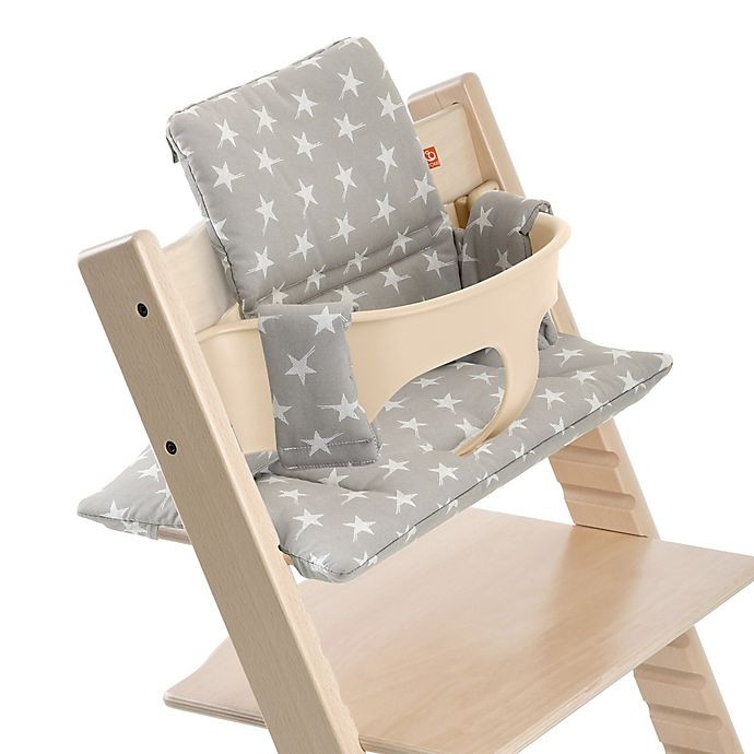 Stokke Tripp Trapp Cushion In Grey Star Bed Bath Beyond