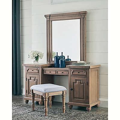 Florence Vanity Desk in Smoke