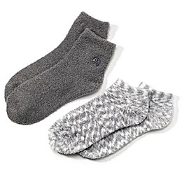 Earth Therapeutics® 2-Pack Super Plush Aloe Moisture Socks