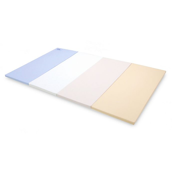 Alternate image 1 for Baby Care Large Gym Mat in Pastel Blue