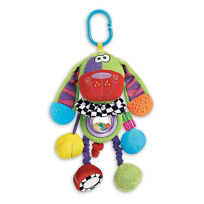 Alternate image 1 for Playgro™ Doofy Dog Activity Toy in Green Multi