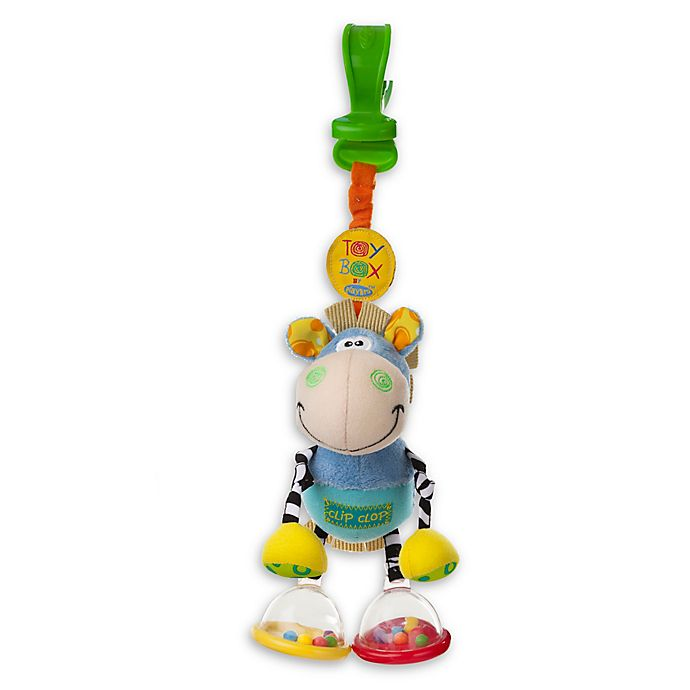 Alternate image 1 for Playgro™ Toy Box Dingly Dangly Clip Clop Activity Toy