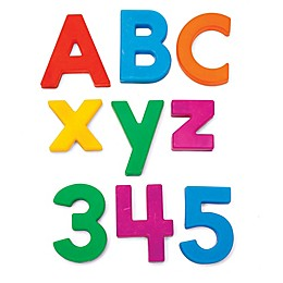 Educational Insights® 126-Piece Multicolored Alphamagnets & Mathmagnets