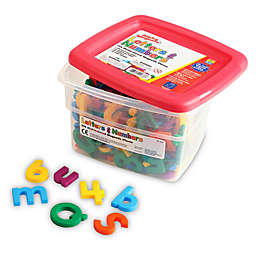 Educational Insights® 218-Piece Multicolored Alphamagnets & Mathmagnets