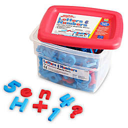 Educational Insights® 218-Piece Color-Coded Alphamagnets & Mathmagnets