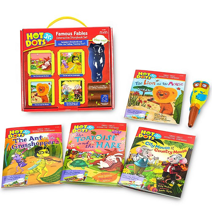 Alternate image 1 for Educational Insights® Hot Dots Jr. Famous Fables
