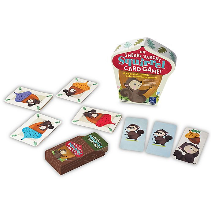 Alternate image 1 for Educational Insights® The Sneaky Snack Squirrel Card Game