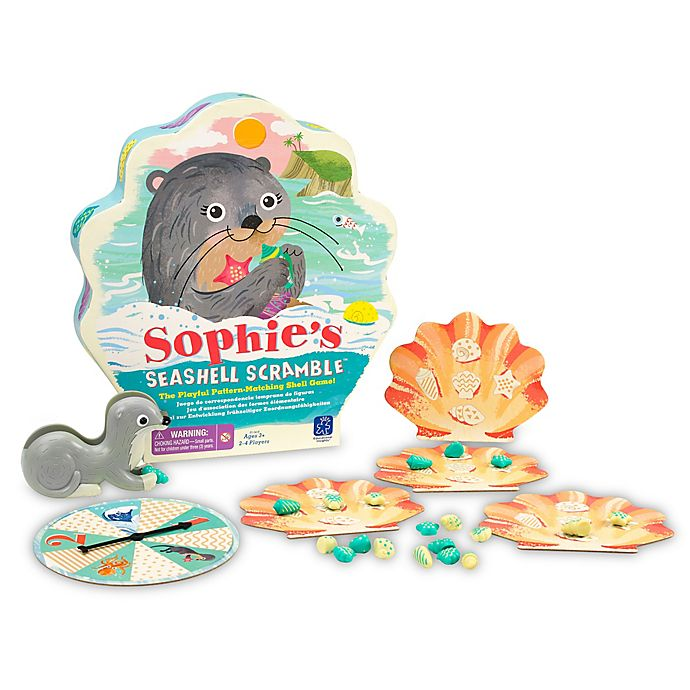 Alternate image 1 for Educational Insights® Sophie's Seashell Scramble