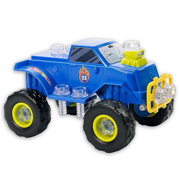 Alternate image 1 for Educational Insights® Design & Drill® Power Play Vehicles™ Monster Truck