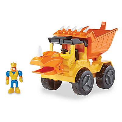Educational Insights® Dino Construction Company Rocko the Styracosaurus Dump Truck
