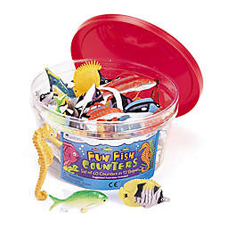 Learning Resources® 60-Piece Fun Fish Counter Set