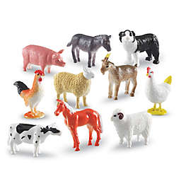 Learning Resources® Farm Animals 60-Piece Counters Set