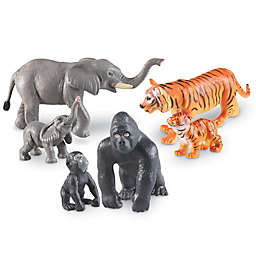 Learning Resources® Jumbo Jungle Animals: Mommas and Babies