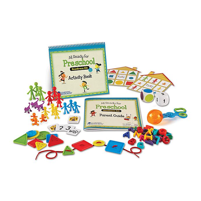 Alternate image 1 for Learning Resources® All Ready for Preschool Readiness Kit