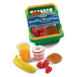 Learning Resources® Pretend & Play® 18-Piece Healthy Breakfast Set