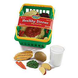 Learning Resources® Pretend & Play® 18-Piece Healthy Dinner Set