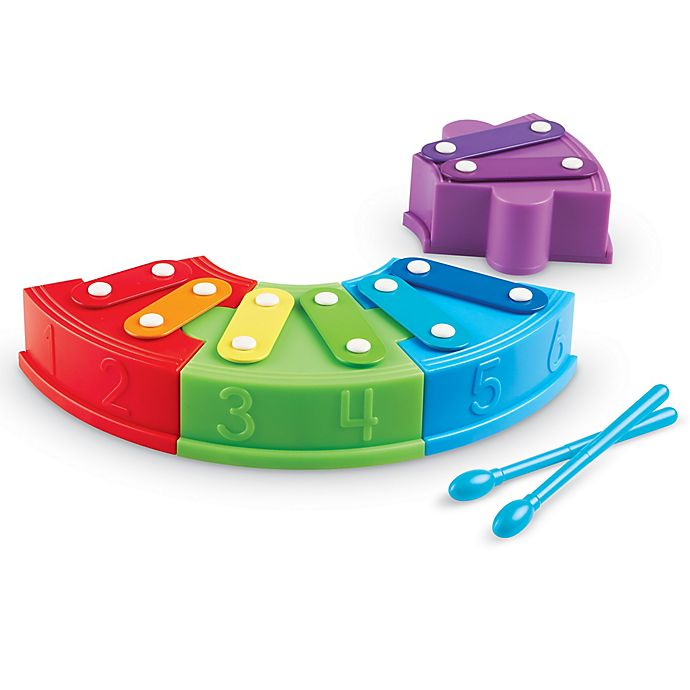 Alternate image 1 for Learning Resources® Rainbow Learning Xylophone