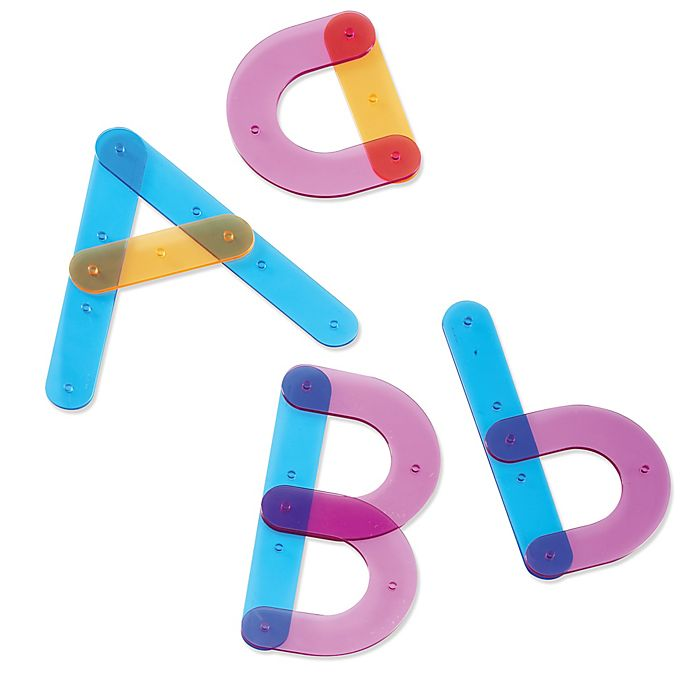 Alternate image 1 for Learning Resources® Letter Construction Activity Set
