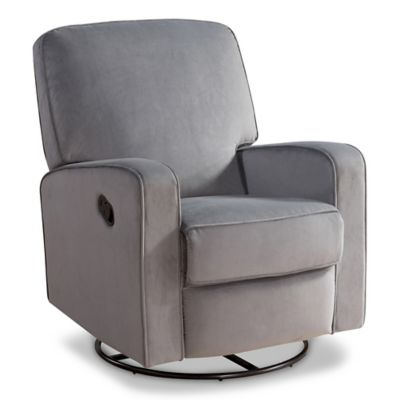 Abbyson Living 174 Ashlyn Nursery Swivel Glider Recliner