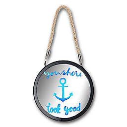 Imagine Fun Underwater Fun 7-Inch Round Anchor Mirror