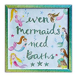 Imagine Fun Mermaid World Framed Print