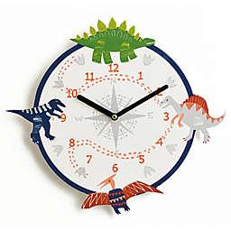 Imagine Fun Dino Doodles Wall Clock