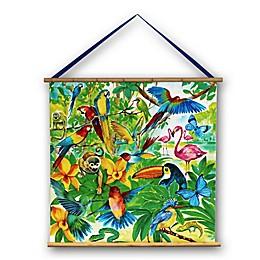 Imagine Fun Jungle Mania Scroll Wall Art