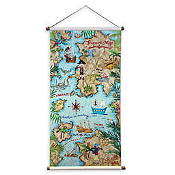 Imagine Fun Pirates Ahoy Scroll Decorative Wall Hanger
