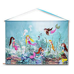 Imagine Fun Mermaid World Decorative Hanging Wall Scroll