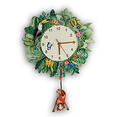 Imagine Fun Jungle Mania Wall Clock