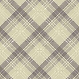 Arthouse Fairburn Tartan Wallpaper in Neutral