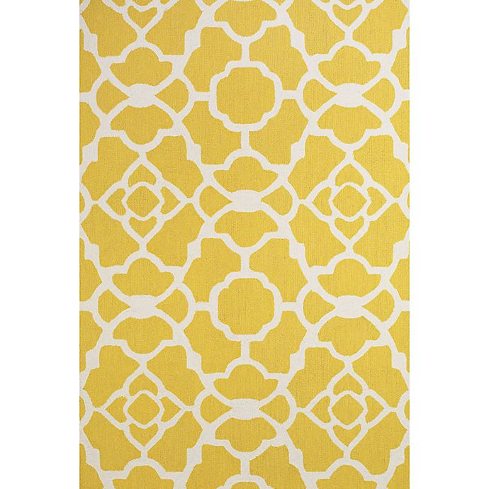 Alternate image 1 for Feizy Amalazari 8-Foot 6-Inch x 11-Foot 6-Inch Hand-Hooked Area Rug in Yellow/White