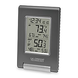 La Crosse Technology Wireless Temperature Station with Atomic Time