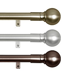 Zenna Home Smart Rods Easy Install Window Curtain Rod
