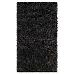 Safavieh Milan Shag 4-Foot x 6-Foot Sienna Rug in Dark Grey