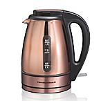 Hamilton Beach® Glass Kettle in Copper