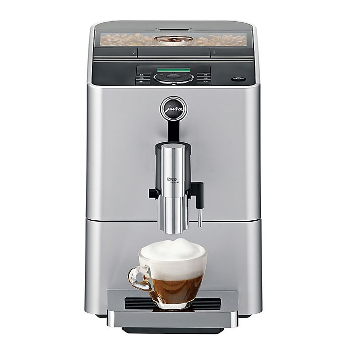 Alternate image 1 for Jura® Micro 90 Fully Automatic Coffee Machine in Silver