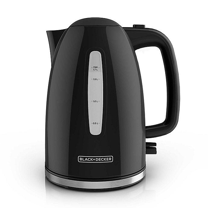 Alternate image 1 for Black and Decker™ 1.7-Liter Rapid Boil Electric Kettle
